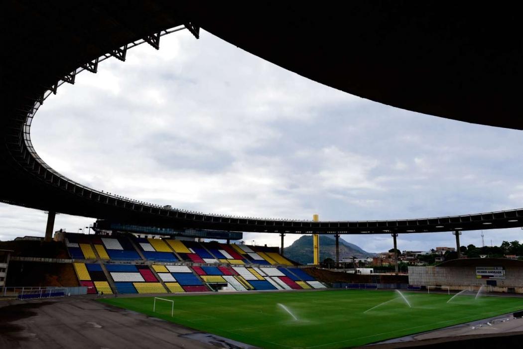 O estádio Kleber Andrade, em Cariacica, vai receber obras complementares. Crédito: Ricardo Medeiros