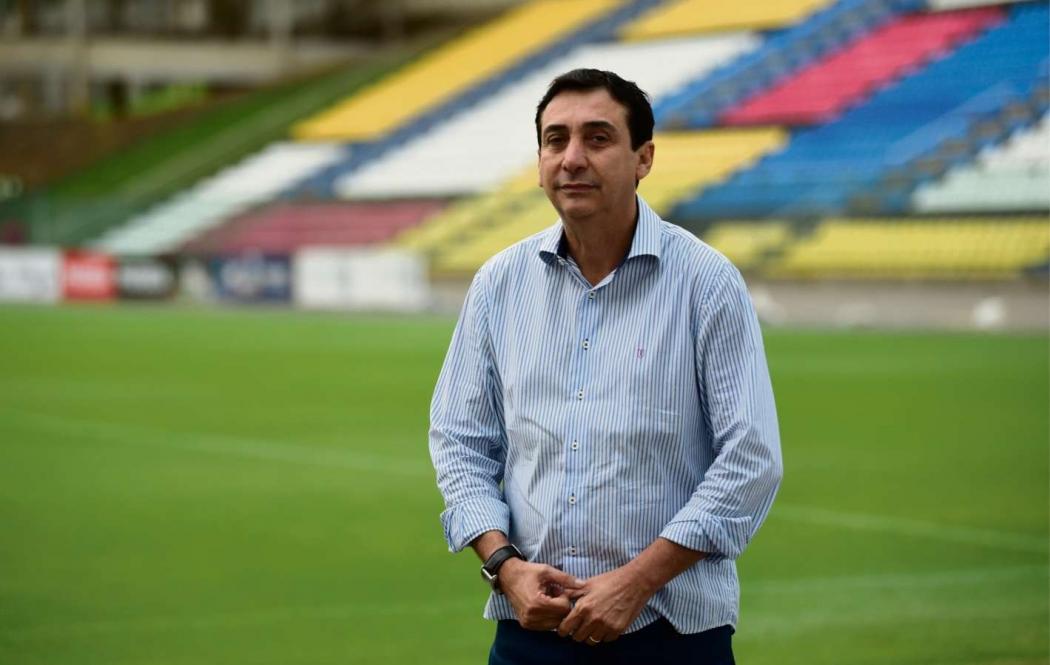 Júnior Abreu, Secretário de Estado de Esportes e Lazer  . Crédito: Ricardo Medeiros