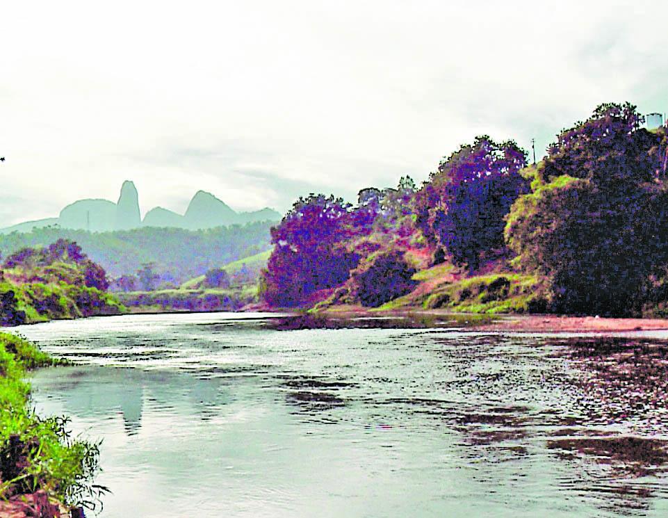 Rio Itapemirim: ambientalistas participaram de expedição pelo curso dágua. Crédito: TV Gazeta/Marcel Alves