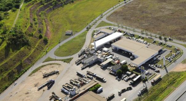 Terminal Industrial e Multimodam da Serra, o Tims. Crédito: Divulgação | TIMS