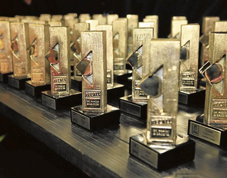 Empresas que se destacaram na pesquisa deste ano vão receber troféus exclusivos  . Crédito: Guilherme Ferrari/Arquivo