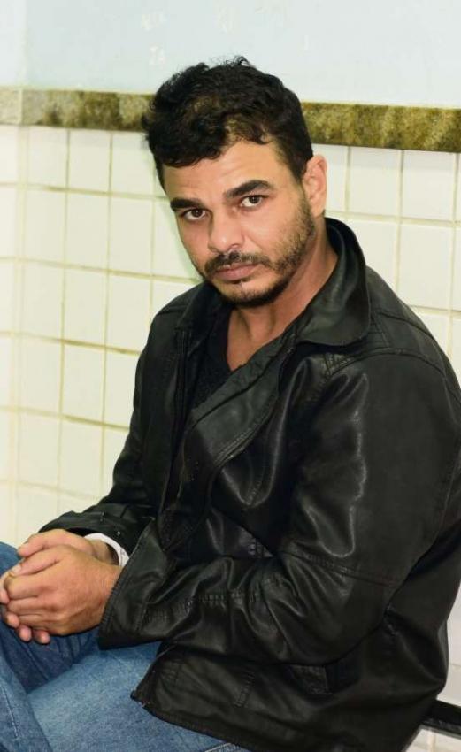 Frank André, traficante preso pela Polícia Federal no Paraguai . Crédito: Ricardo Medeiros