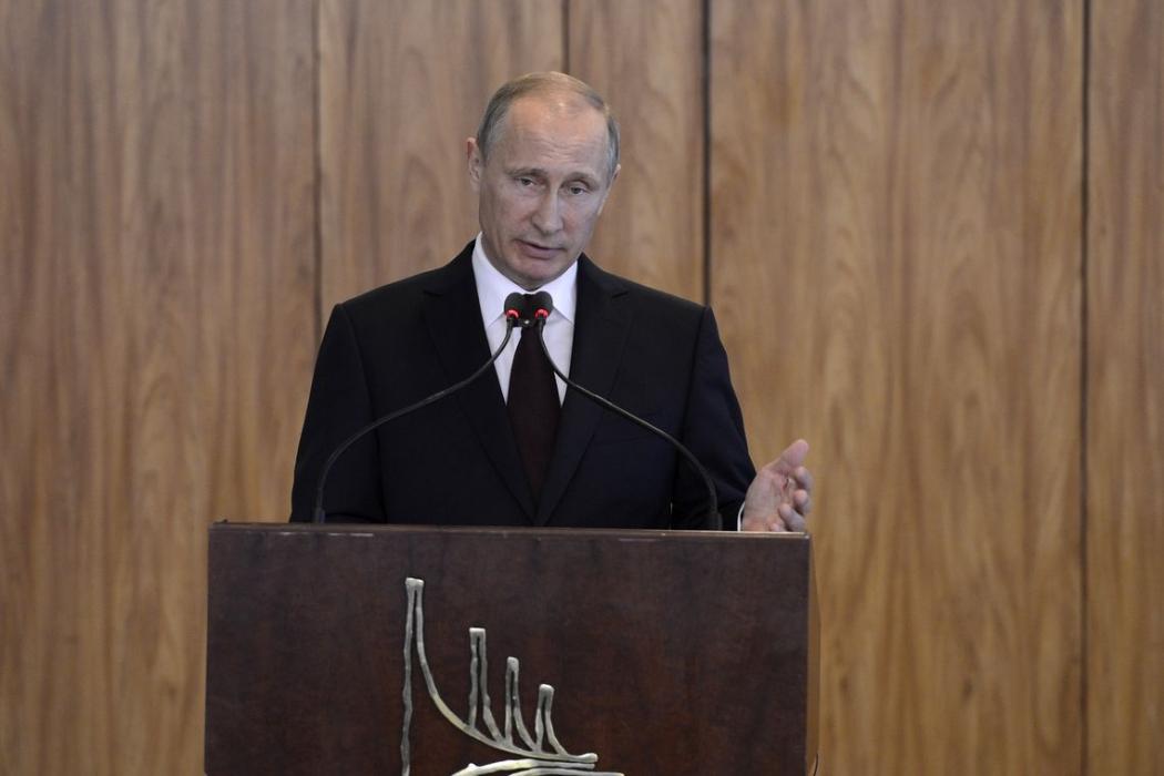O presidente da Rússia, Vladimir Putin. Crédito: Wilson Dias/Agência Brasil