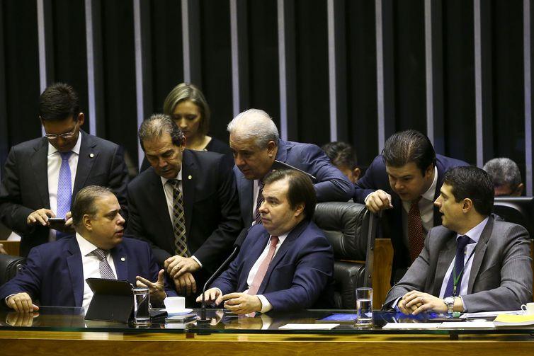Câmara retoma votação de destaques da reforma da Previdência. Crédito: Marcelo Camargo/Agência Brasil