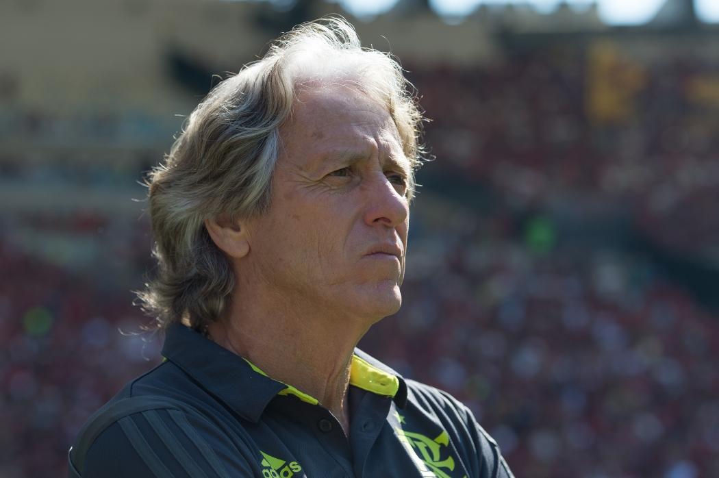 Jorge Jesus, técnico do Flamengo, disse que o Rubro-Negro faria bonito no Campeonato Inglês