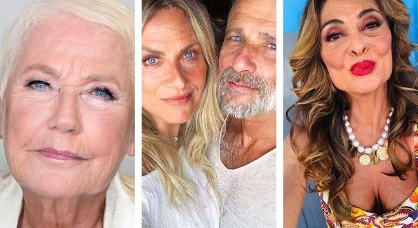 Xuxa, Giovanna Ewbank e Bruno Gagliasso e Juliana Paes: famosos se divertem com app de envelhecimento na web