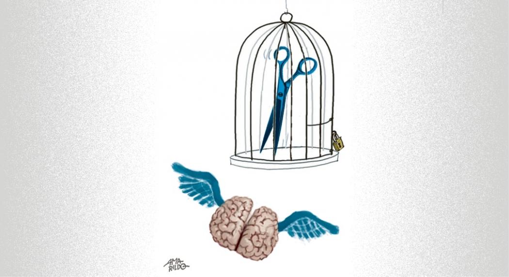 Pensamento livre. Crédito: Amarildo
