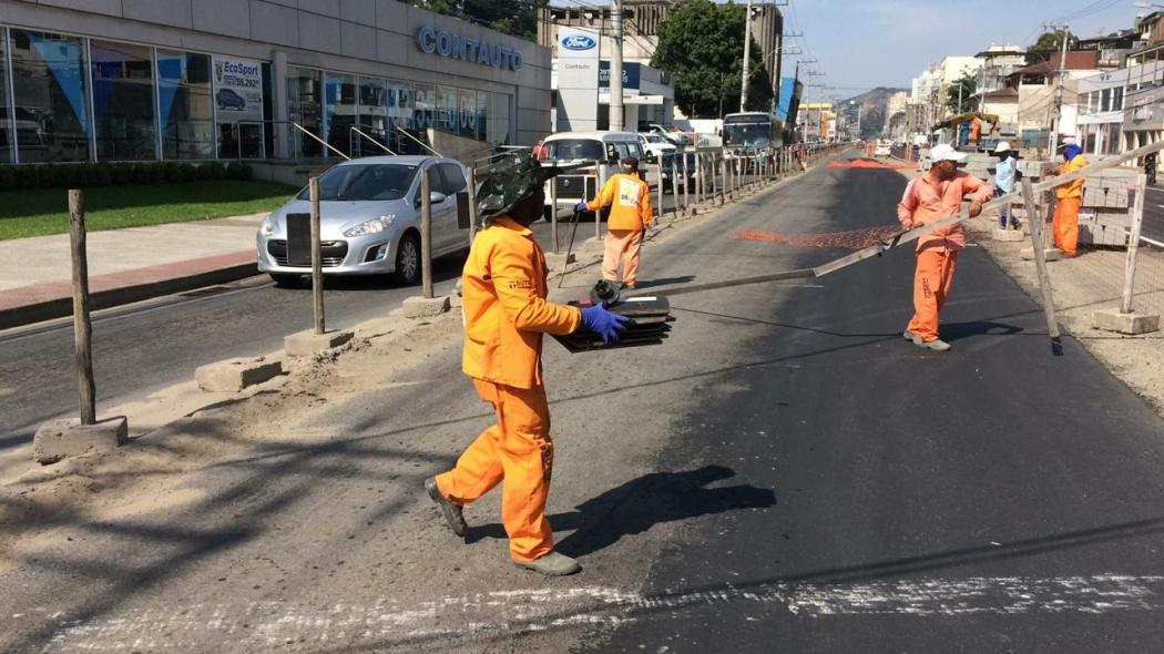Avenida Leitão da Silva tem pista liberada nesta terça-feira (16). Crédito: Eduardo Dias