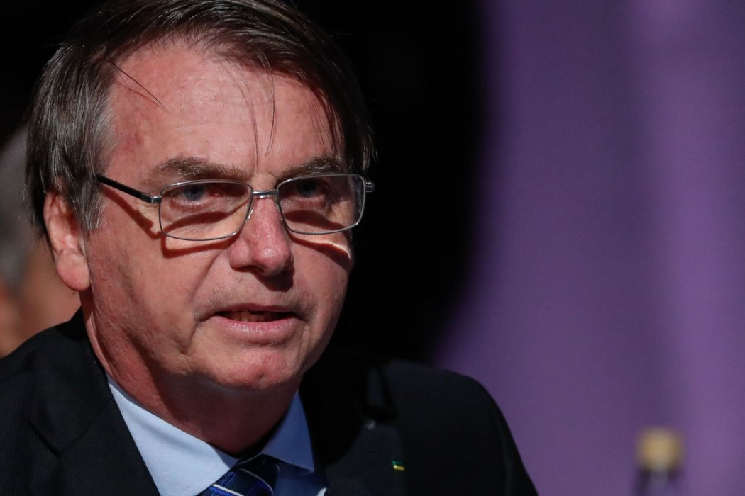 Bolsonaro: Vamos mandar projeto de excludente de ilicitude ao Congresso. Crédito: Alan Santos/PR
