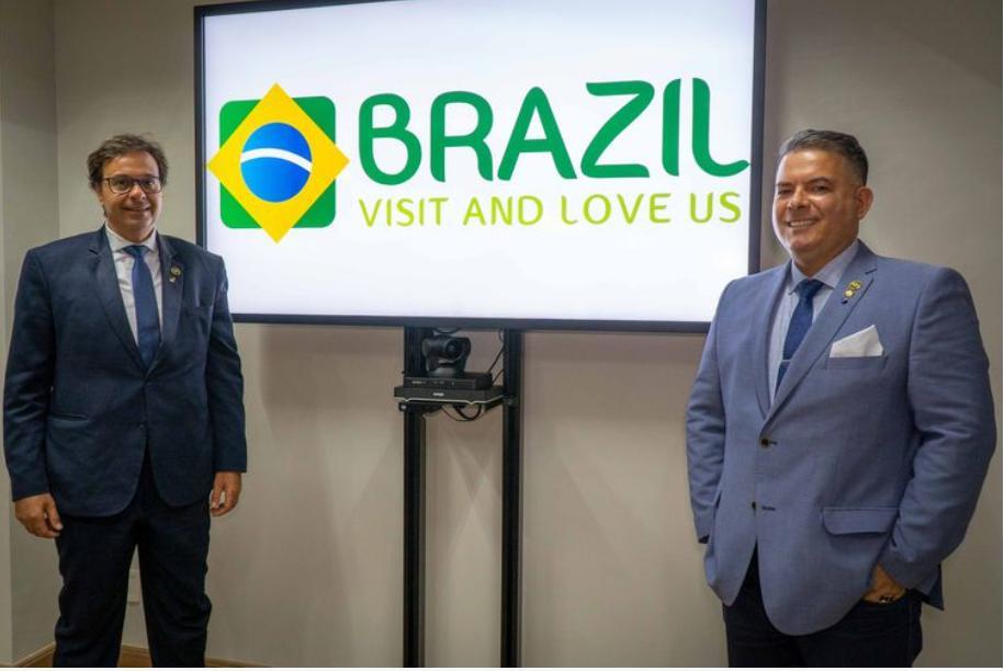 Novo slogan do Brasil. Crédito: Reprodução