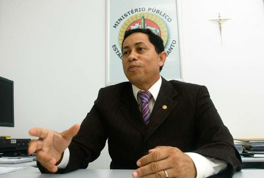 O promotor de Justiça Jonaci da Silva Herédia em foto de arquivo. Crédito: Gustavo Louzada - 20/02/2008