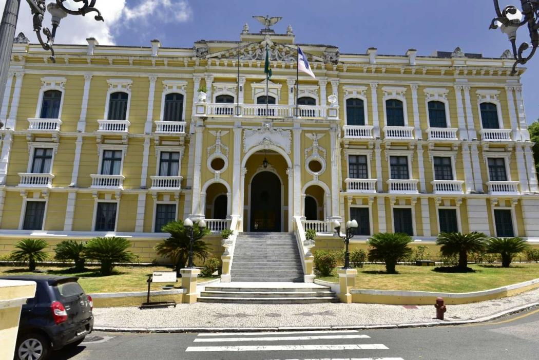 Palácio Anchieta, sede do Governo do Estado. Crédito: Marcelo Prest