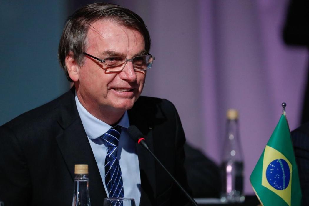 O presidente da República, Jair Bolsonaro, discursa na 54ª Cúpula de Chefes de Estado do Mercosul, em Santa Fé, Argentina. Crédito: Alan Santos/PR