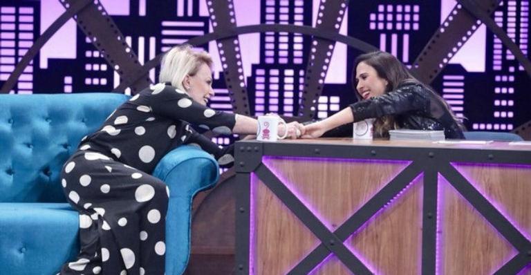 """Ana Maria Braga é convidada de Tatá Werneck no """"Lady Night"""". Crédito: Multishow/Reprodução"""