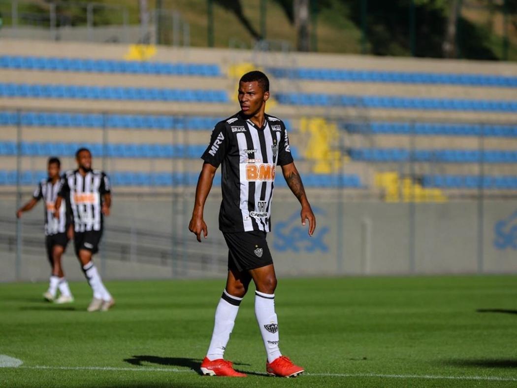 Atacante capixaba Guilherme Santos, do Atlético-MG, foi convocado para a seleção brasileira sub-18. Crédito: Reprodução/Instagram
