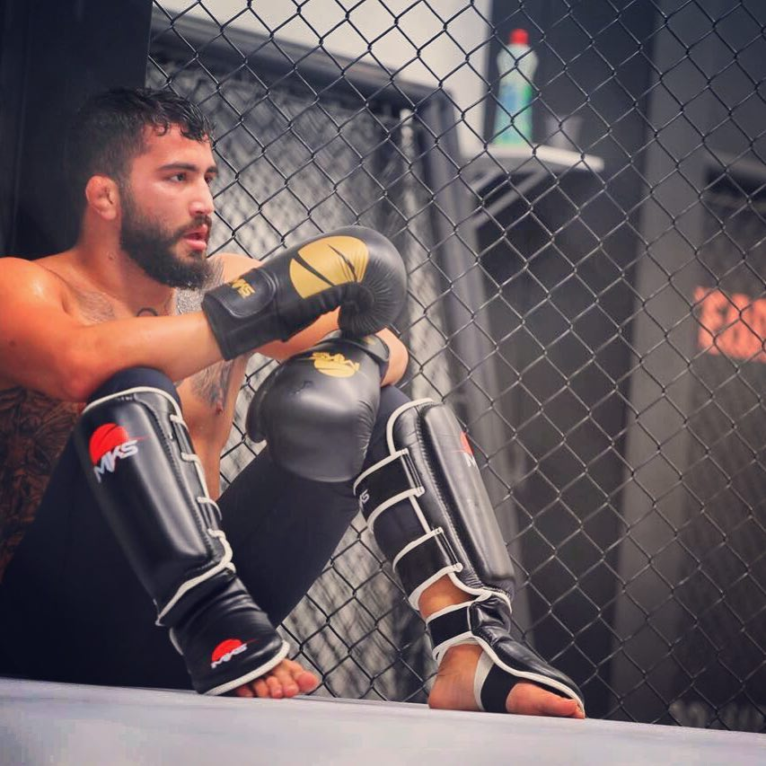 Gabriel Silva não estreou da maneira como gostaria no UFC. Crédito: Arquivo pessoal