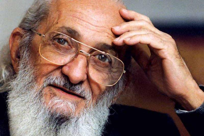 Paulo Freire. Crédito: Divulgação