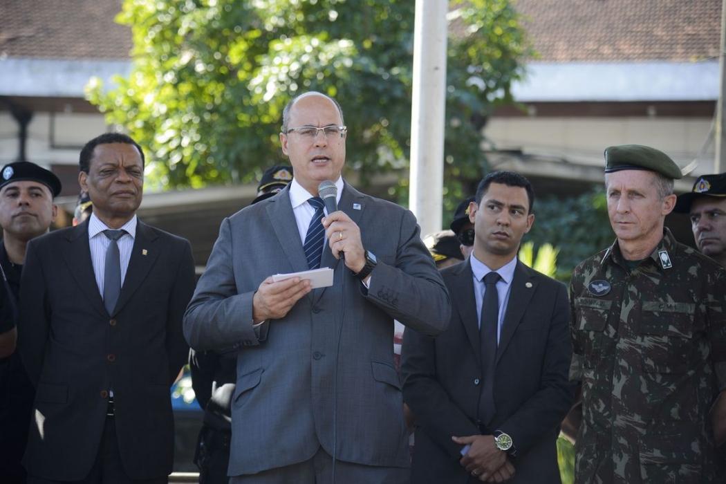 O governador Wilson Witzel. Crédito: Tomaz Silva/Agência Brasil