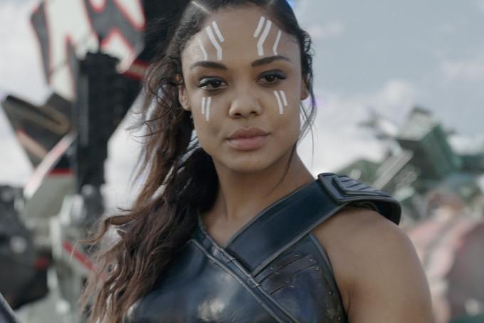 A heroína Valquiria, da Marvel. Crédito: Marvel Studios/Divulgação