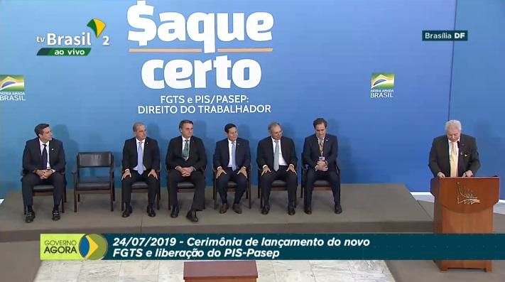 Governo anuncia regras para saque do FGTS. Crédito: Reprodução