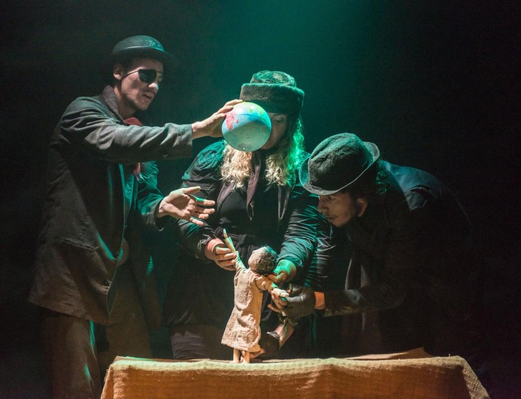 Cena do Festival de Artes Cênicas de Cachoeiro de Itapemirim (Facci). Crédito: PMCI/Reprodução