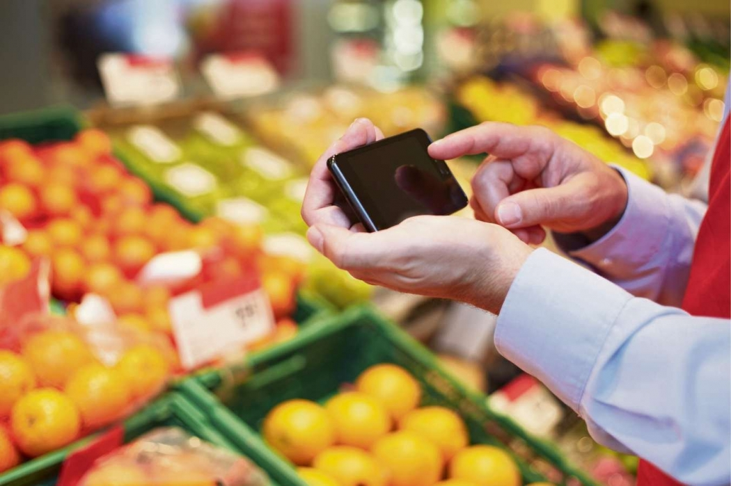 Tecnologia para rastrear alimentos e produtos em todas as etapas de produção. Crédito: Divulgação