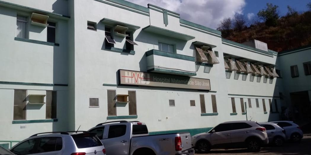 Fachada do Hospital e Maternidade São José, em Colatina. Crédito: Larissa Avilez