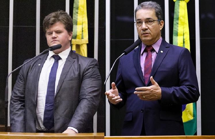 Felipe Rigoni e Ted Conti. Crédito: Chico Ferreira/Divulgação