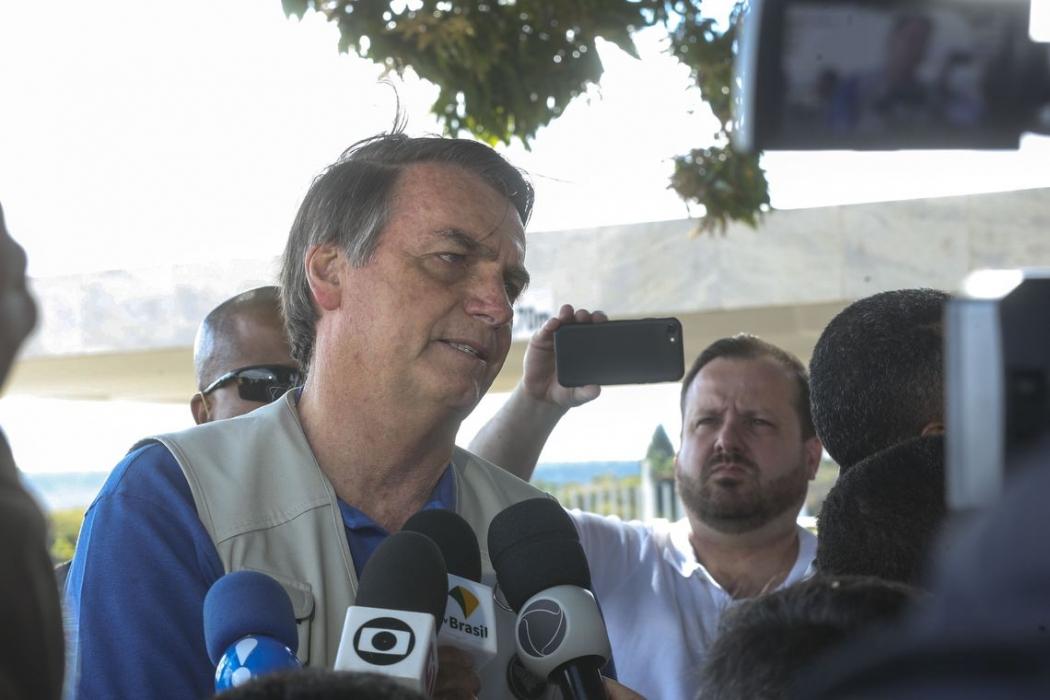 Jair Bolsonaro. Crédito: Antonio Cruz/Agência Brasil