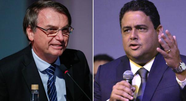 O presidente Jair Bolsonaro e Felipe Santa Cruz, presidente da Ordem dos Advogados do Brasil (OAB). Crédito: Montagem | Gazeta Online