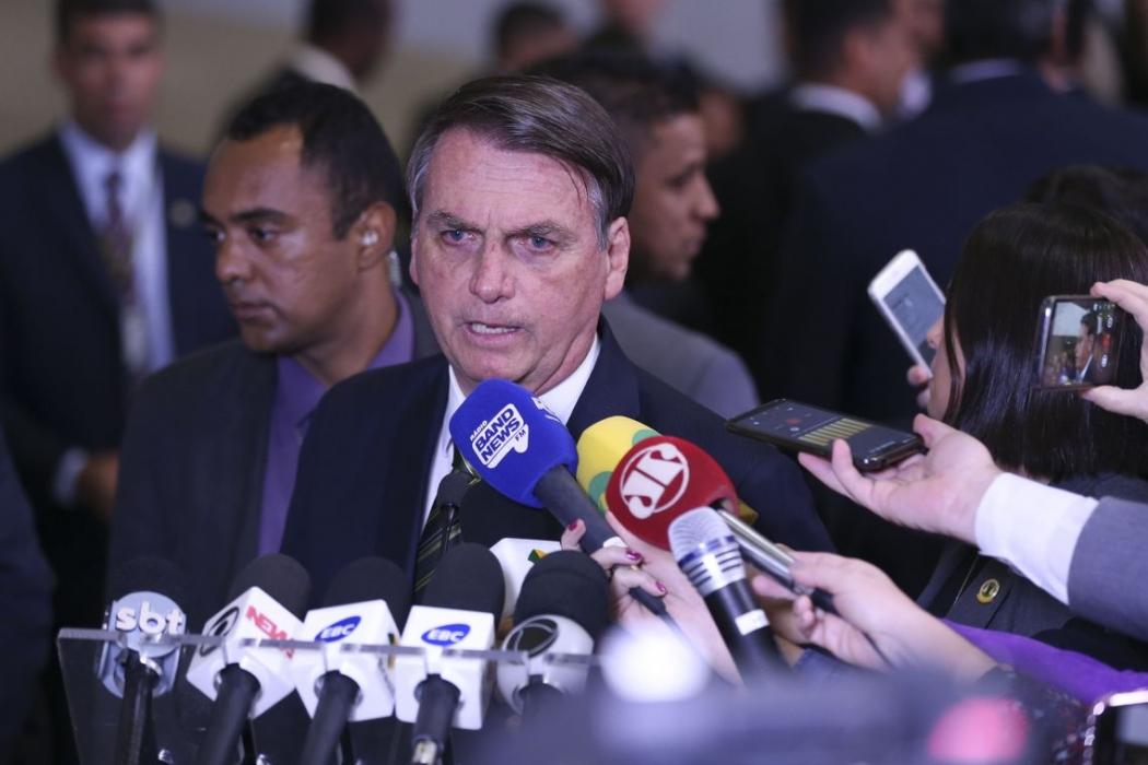 O presidente Jair Bolsonaro. Crédito: José Cruz/Agência Brasil