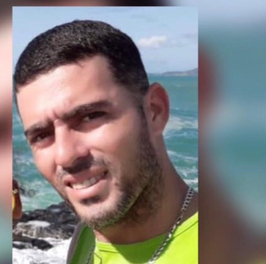 Eder Henrique de Moura Teixeira, de 32 anos, é um dos seguranças sequestrados no RJ. Crédito: Acervo Pessoal