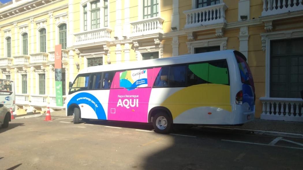Cartão GV é inaugurado no Palácio Anchieta, em Vitória. Crédito: Divulgação
