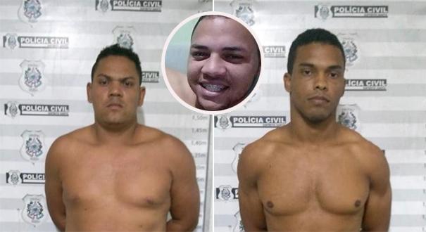 Acusados de matar entregador por ciúmes são presos na serra. Crédito: Divulgação