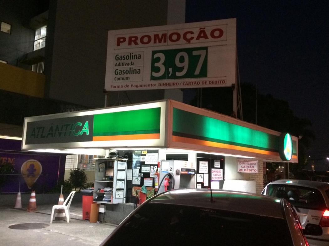 Preço da gasolina na Grande Vitória varia em até 40 centavos entre os postos. Crédito: Eduardo Dias