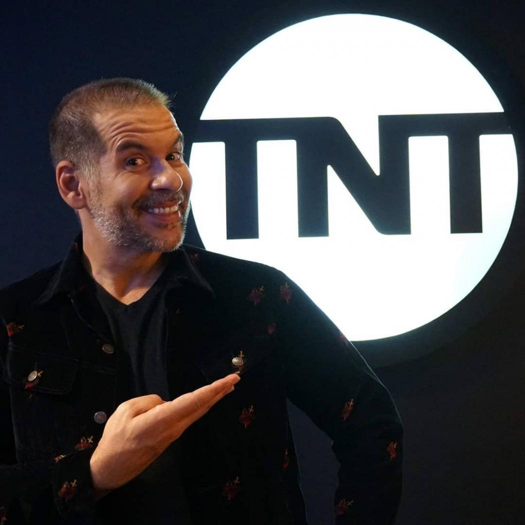 O apresentador Leandro Hassum. Crédito: TNT/Divulgação