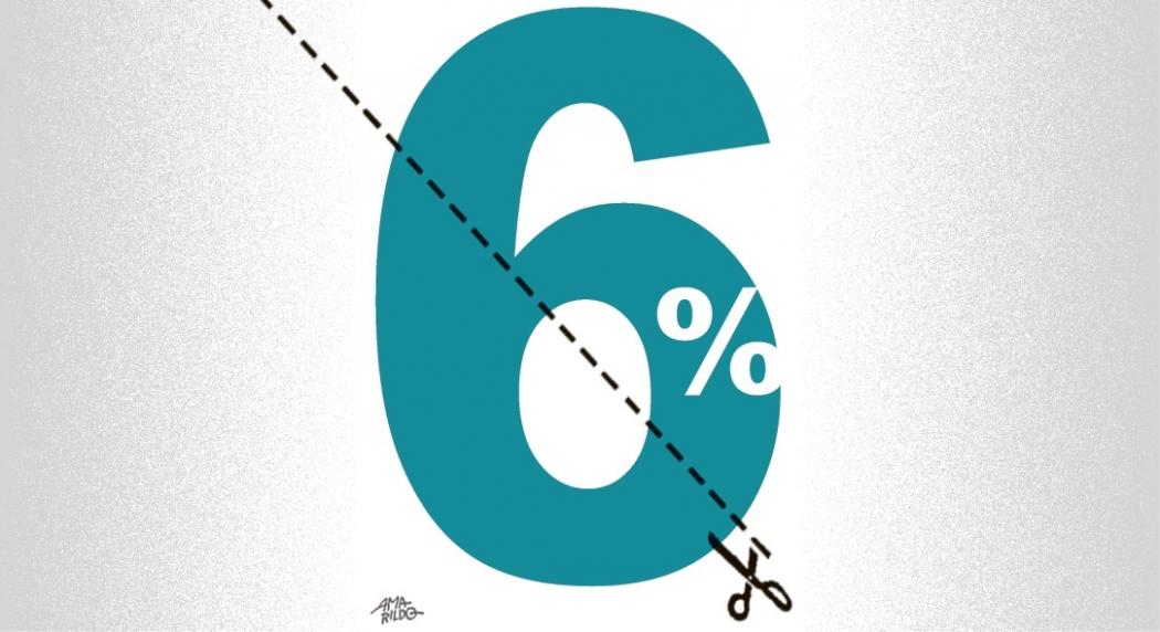 Banco Central reduz juros básicos para 6%. Crédito: Amarildo