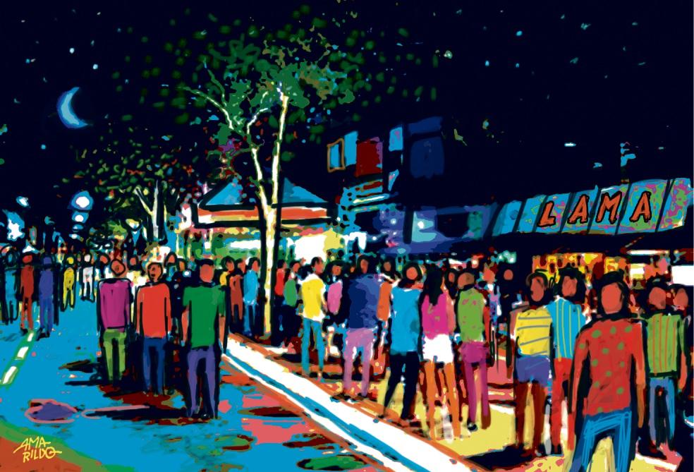 Projeto de lei aprovado na Câmara dos Vereadores regulamenta festa na Rua da Lama. Crédito: Amarildo