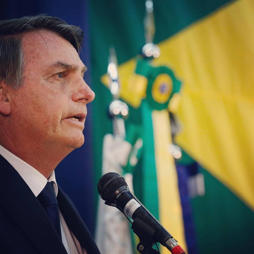 """Bolsonaro na Marcha para Jesus: """"Ideologia de gênero é coisa do capeta"""". Crédito: Instagram"""