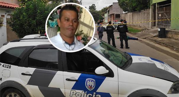 Aloísio da Silva Bandeira, de 43 anos, foi assassinado a caminho do trabalho. Crédito: Isaac Ribeiro