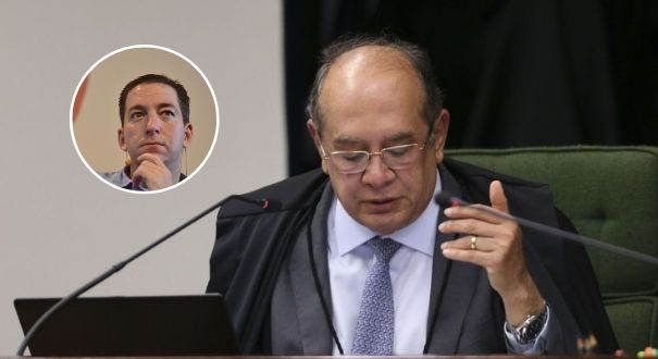 Gilmar Mendes dá cautelar que impede investigação sobre Glenn Greenwald. Crédito: Gazeta Online