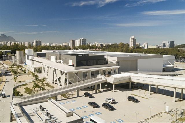 O novo complexo, o Módulo de Gravação 4 - MG4, dos Estúdios Globo. Crédito: Globo/Divulgação