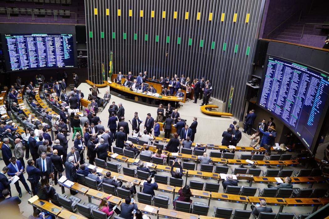 Plenário da Câmara dos Deputados. Crédito: Pablo Valadares/Câmara dos Deputados