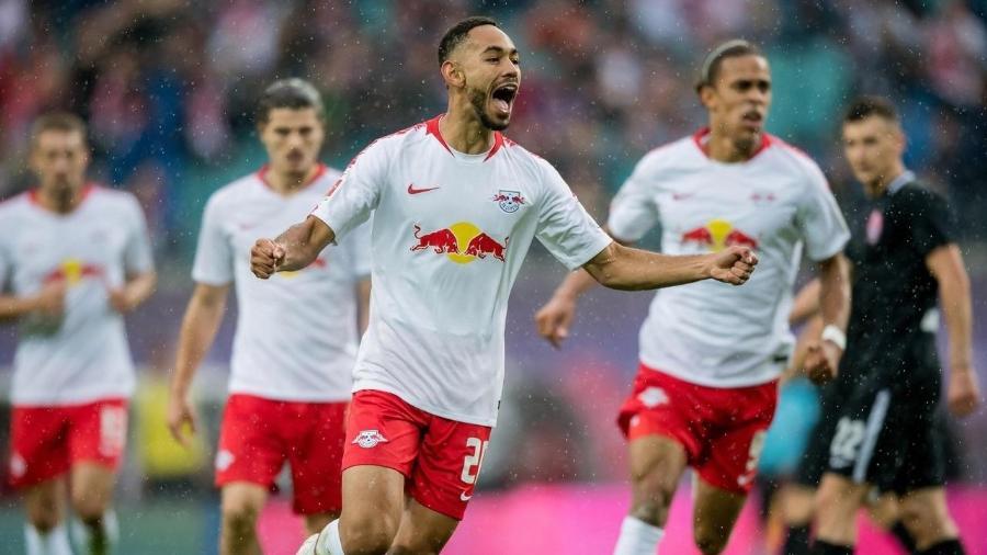 O Brasileiro Matheus Cunha, do RB Leipzig, concorre ao gol mais bonito do ano