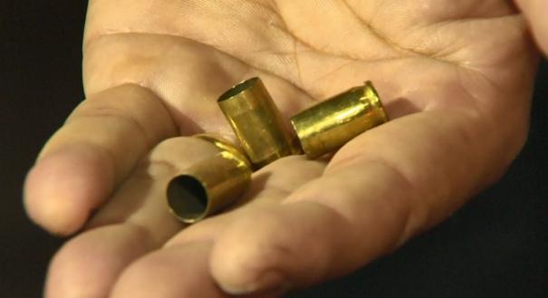Segurança recolheu três cápsulas de munição disparadas pelo policial civil durante confusão