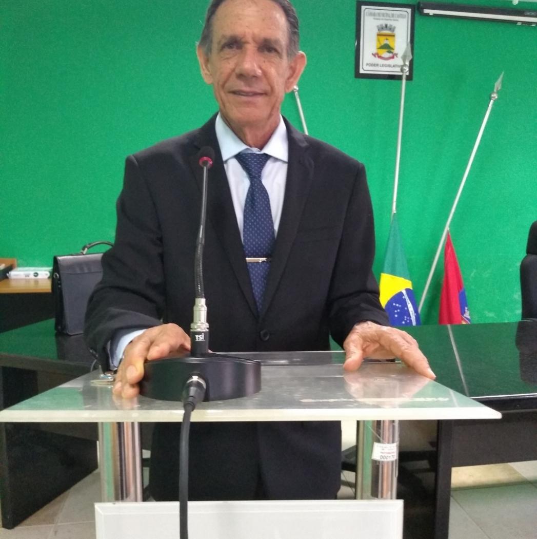 Presidente da Câmara de Castelo, vereador Domingos Fracaroli. Crédito: Facebook Domingos Fracaroli