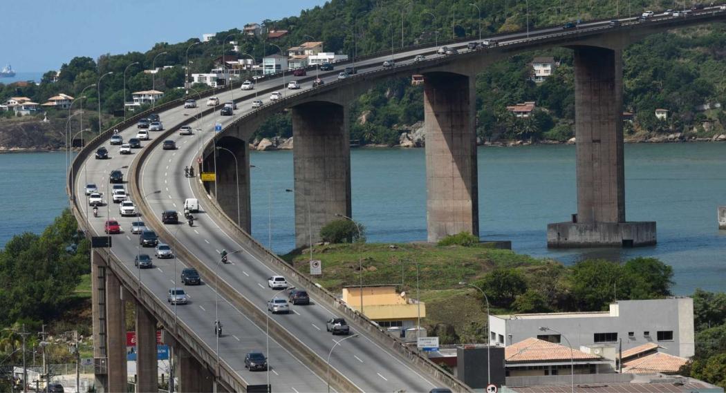 Vista da Terceira Ponte