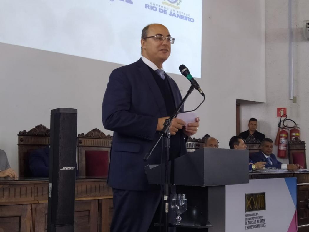 Wilson Witzel, governador do Rio de Janeiro. Crédito: Eduardo Dias