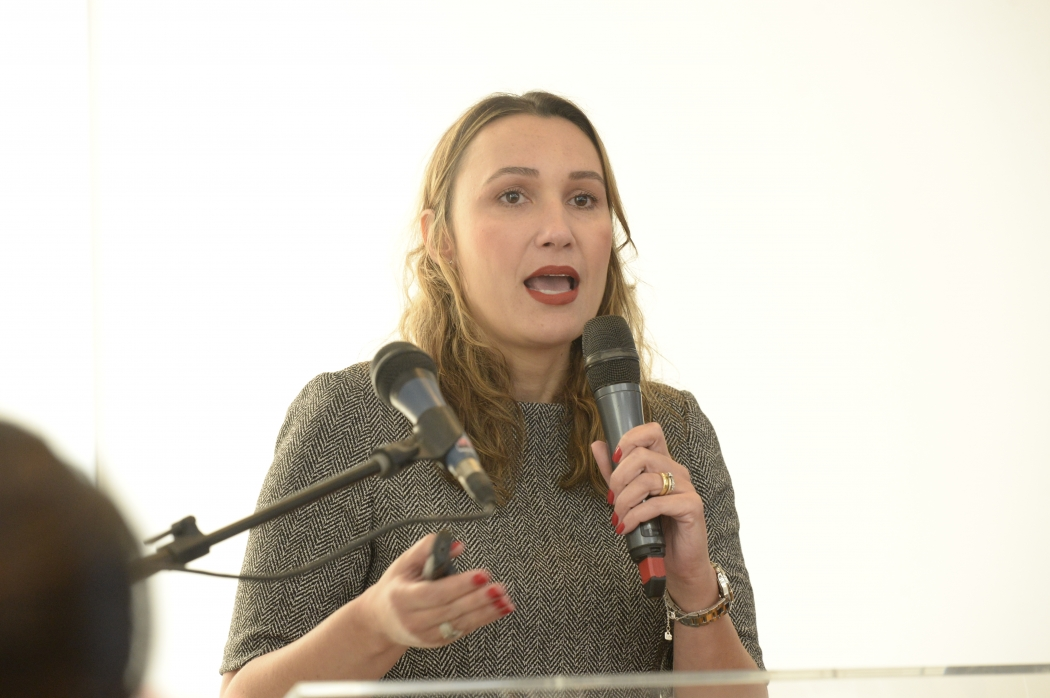 Natália Marcassa é secretária de Fomento, Planejamento e Parcerias do Ministério da Infraestrutura. Crédito: Ademir Ribeiro