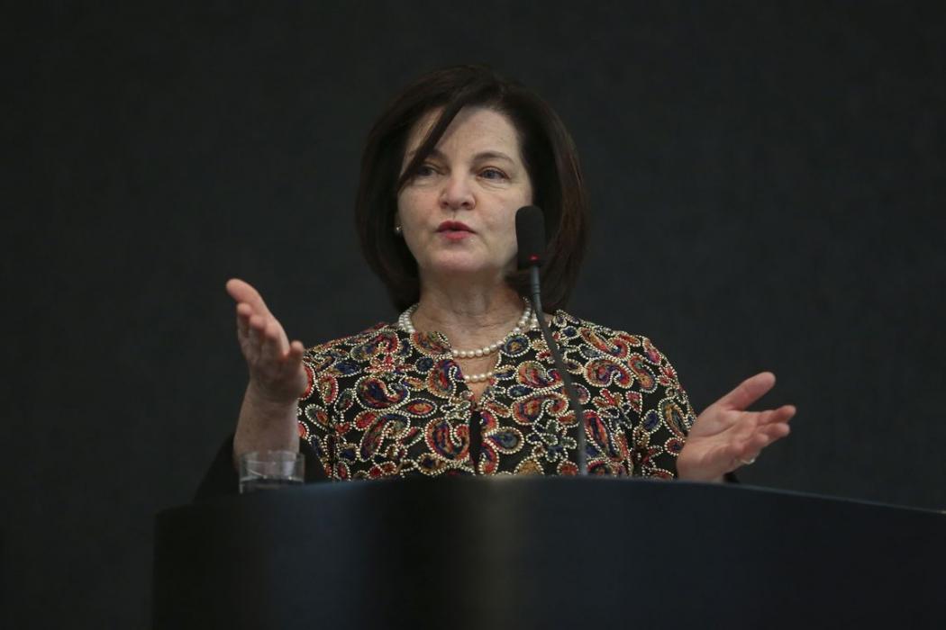 A procuradora-geral da República, Raquel Dodge, fala durante o VI Seminário de Planejamento Estratégico Sustentável do Poder Judiciário. Crédito: Antonio Cruz/ Agência Brasil